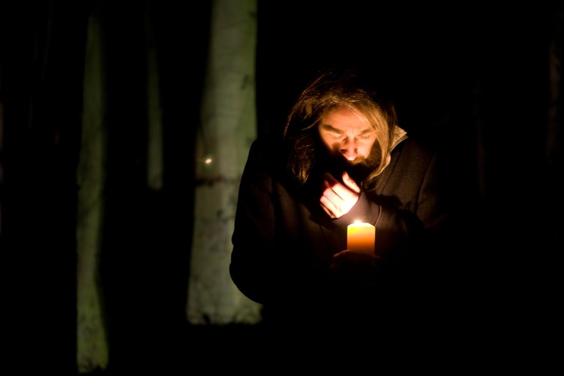 Muscian Danny Roger in delamere Forest. Pormotional Shots for hi